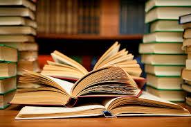Bibliotheek vol boeken Persregio Dender