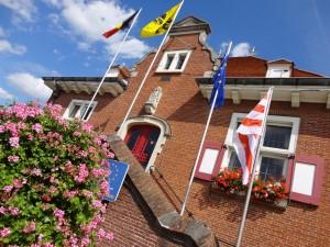 Gemeentehuis Sint Lievens Houtem Persregio Dender