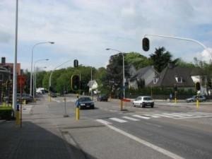Boudewijnlaan in Aalst Persregio Dender