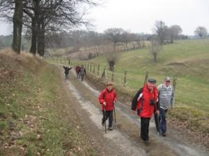 Wandelen in de winter Persregio Dender