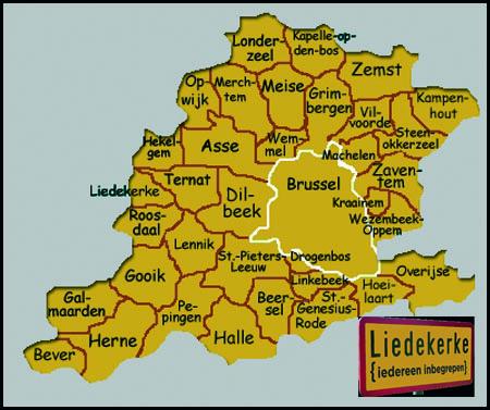 Oost Vlaanderen Gemeenten Zuid-oost-vlaanderen te