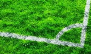Grasveld voetbalplein Persregio Dender