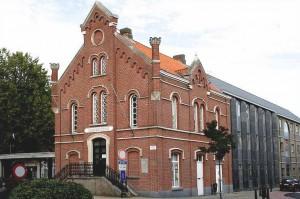 Oud-gemeentehuis Erembodegem Persregio Dender