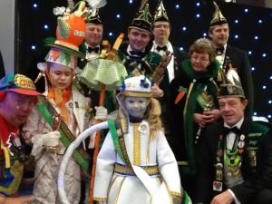 Prins en Princes Kindercarnaval Ninof 2015 Persregio Dender