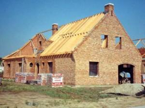 Ruwbouw woning Persregio Dender