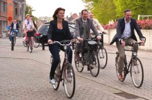 Stadsbestuur ijvert voor fietspaden Persregio Dender