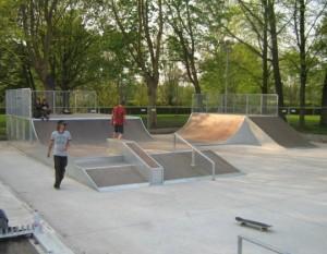Skatepark in Ninove Persregio Dender