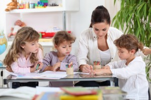 Begeleiders kinderopvang Persregio Dender