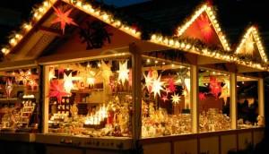 Kraam op Kerstmarkt Aalst Persregio Dender