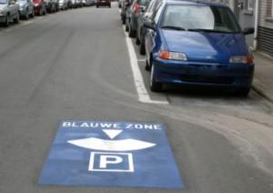 Parkeren in blauwe zone Persregio Dender
