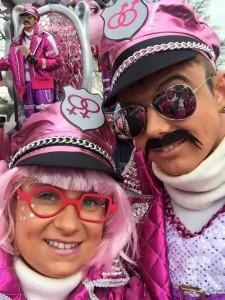 De Zlielen met wagen Ninove Carnaval Persregio Dender