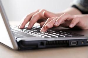 Computer laptop e-mail Persregio Dender