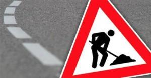 Wegenwerken verbodsbord - Persregio Dender
