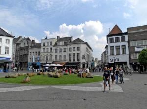 Aalst Grote Markt terrassen Persregio Dender