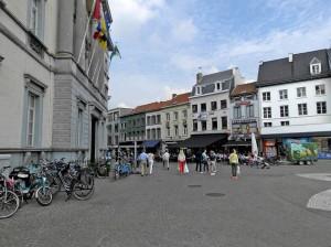 Stadhuis op Grote Markt Aalst Persregio Dender