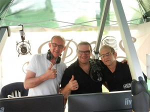Radio Pros on tour Persregio Dender