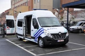 Bureelwagen Geraardsbergse politie Persregio Dender