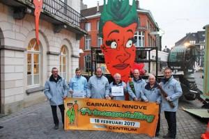 Carnaval Ninof Prinsaanstelling Persregio Dender
