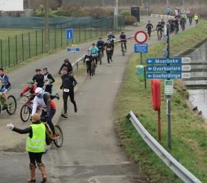 Run en Bike in Geraardsbergen Persregio Dender