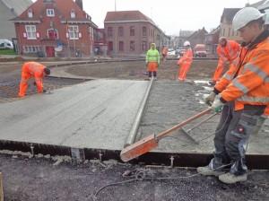 Wegenwerken Sint-Lievens-Houtem Persregio Dender