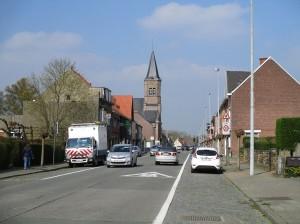 Herdersem dorp Persregio Dender