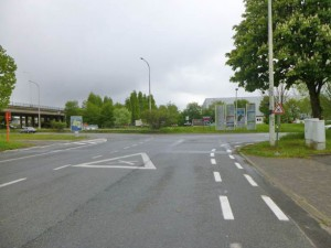 Kruispunt Victor Bocquestraat - Eendrachtstraat Aalst Persregio Dender