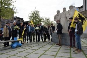 Jong N-VA Aalst eert Daens Persregio Dender