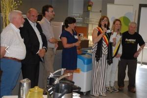 Tania De Jonge verwelkomt nieuwe inwoners Persregio Dender