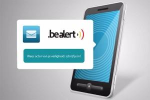 Be Alert logo meldingen via signaal