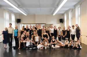Internationale dansstage in Kunstacademie Geraardsbergen Persregio Dender