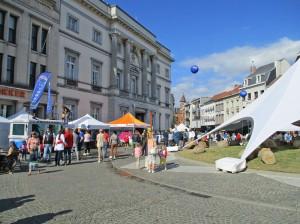 Sportdag op Grote Markt Aalst Persregio Dender