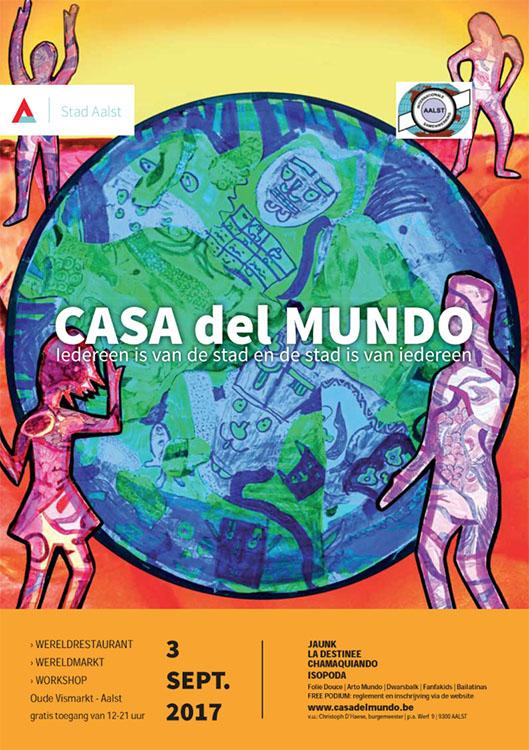 Casa del mundo slaat zijn tenten op aan oude vismarkt - Casa del mundo ...
