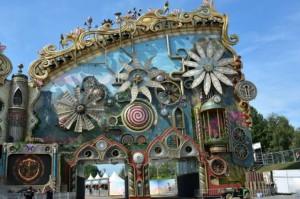 Neverland bouwt decor voor Tomorowland