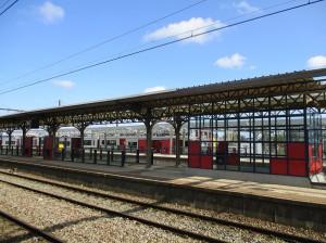 NMBS spoorlijn Aalst Station Persregio Dender