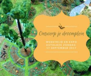 Ontwerp je droomplein tijdens Autoloze Zondag Persregio Dender