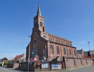 Zonnegem Dorp Kerk Persregio Dender