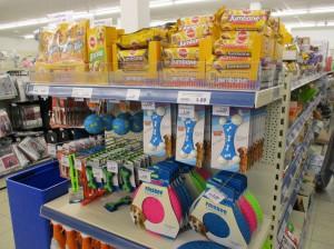 Dierenvoeding in winkelrekken Persregio Dender