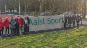 Atletiekpiste aan Osbroek feestelijk geopend Persregio Dender