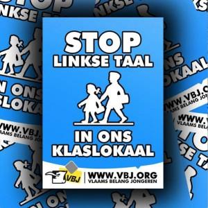 Stop linkse taal in ons klaslokaal Persregio Dender