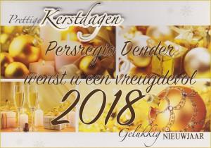 Kerstkaart 2018 Persregio Dender