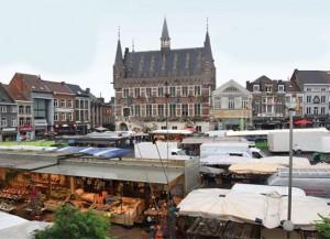 Marktdag in Geraardsbergen Persregio Dender