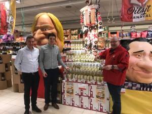 Aalsterse Gilles lanceren Carnavalswijn Persregio Dender