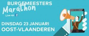 Burgemeester Marathon Radio 2 Oost-Vlaanderen