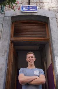Dries De Vriendt Odisee student gaat naar Zuid-Afrika Persregio Dender