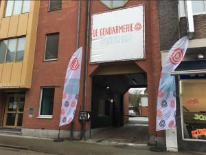 Lokaal markt De Gendarmerie Aalst Persregio Dender