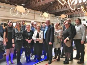 N-VA ploeg Aalst voor 2018 Persregio Dender