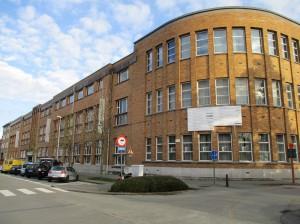 VTI Technische school Aalst voorgevel Persregio Dender