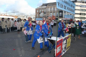 Carnaval Aalst met JJ De Gucht Persregio Dender