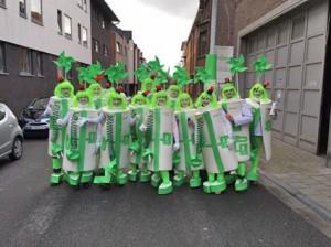 Fleis carnavalgroep wint prijs Groen Aalst Persregio Dender