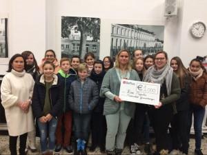 Middenschool Geraardsbergen schenkt 1